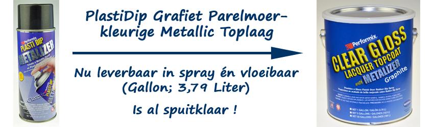 PlastiDip Graphite Pearl Metalizer