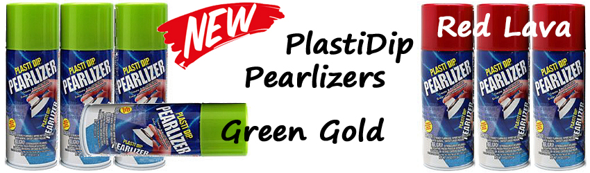 Nieuwe PlastiDip Pearlizer kleuren